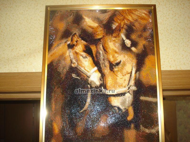 Вышивка лошади готовые работы